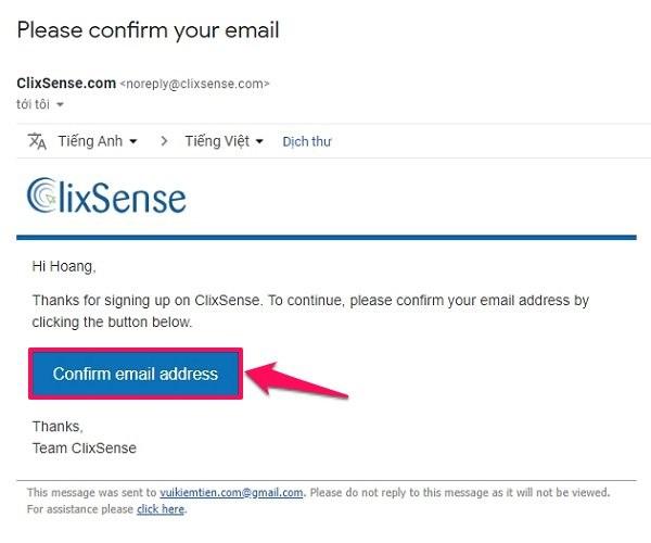 Hướng dẫn kiếm tiền Clixsense - Đăng ký tài khoản