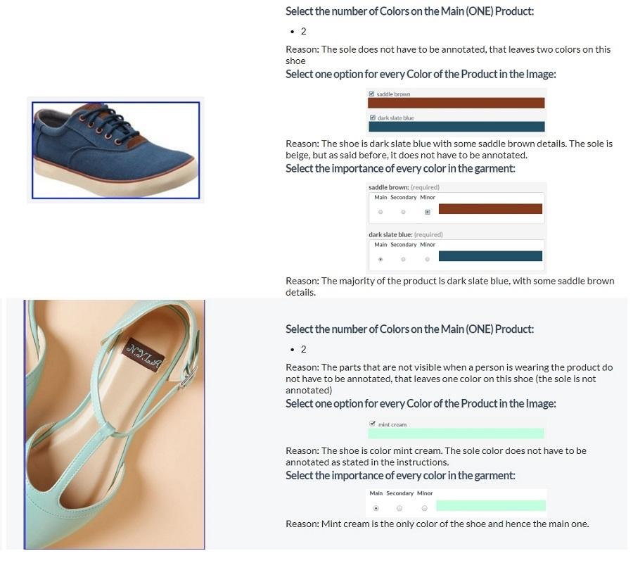 Hướng dẫn kiếm tiền Clixsense - Làm task xác định màu sắc sản phẩm