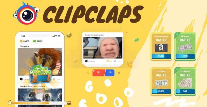 Hướng dẫn kiếm tiền trên Clipclaps